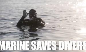 Riptide Marines Save Divers in Japan