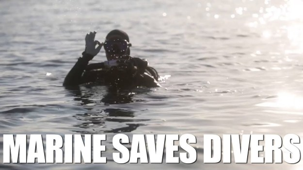 Riptide Marines Save Divers in Japan