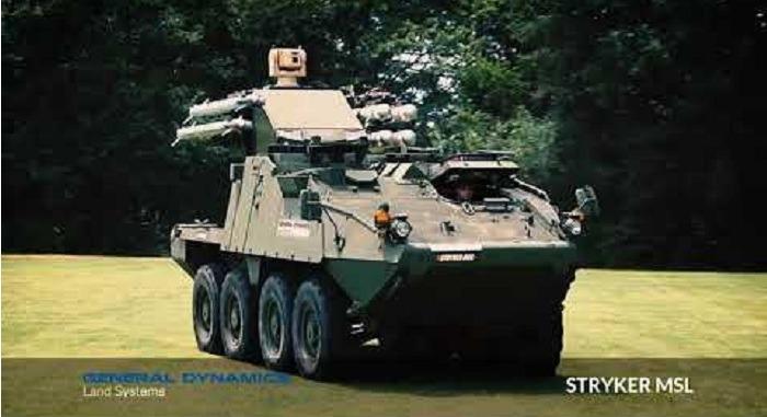 Stryker Maneuver SHORAD Launcher (MSL)