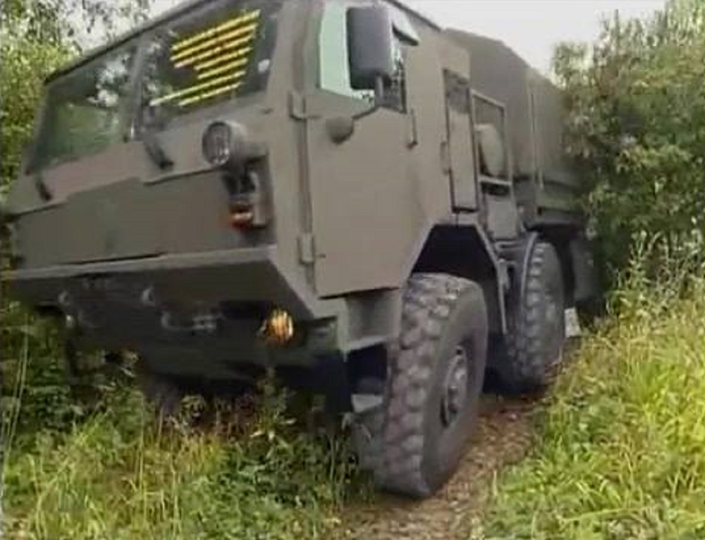 Tatra 815-7 Heavy Army Logistics Vehicle