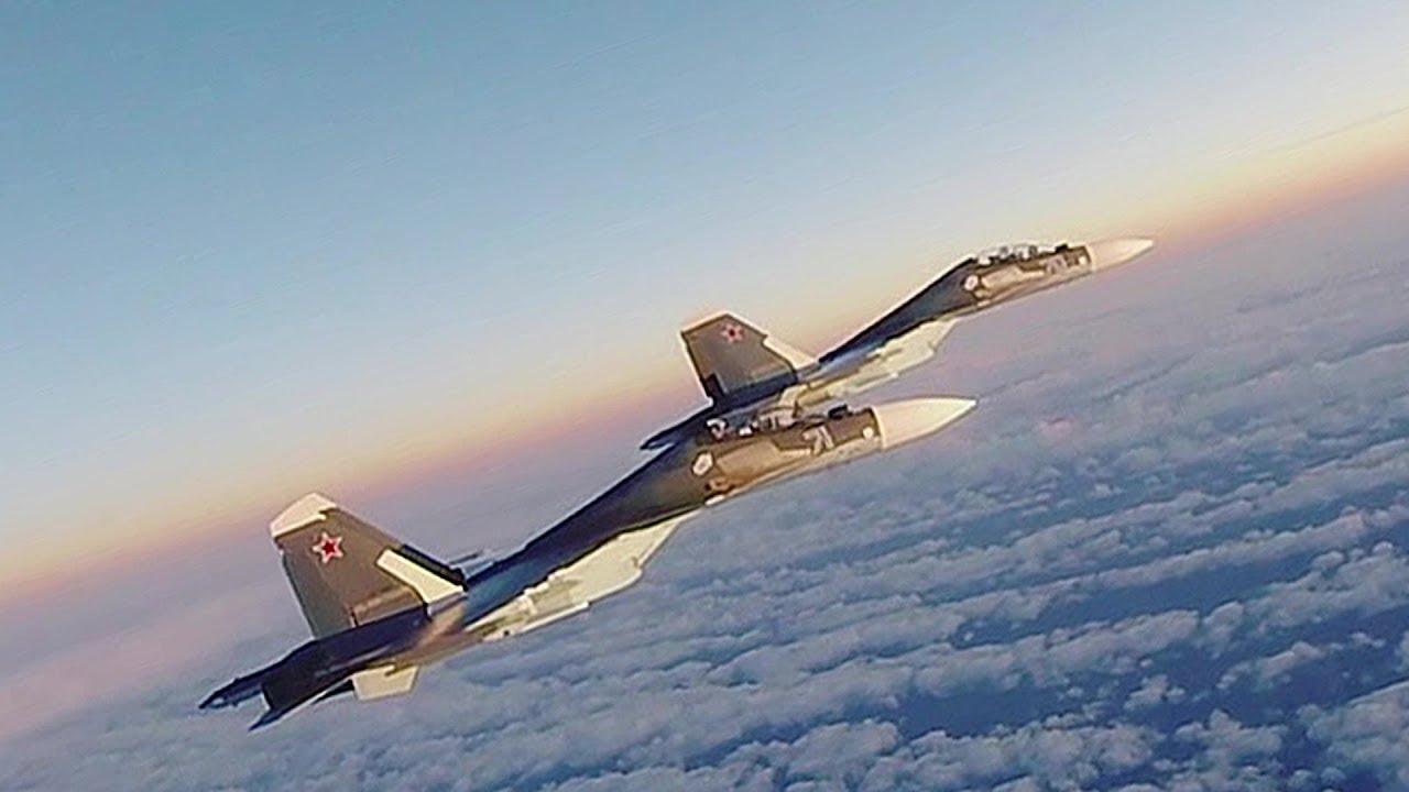 U.S. Air Force Air Policing Scramble