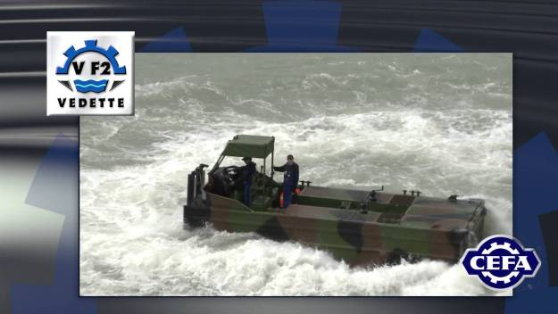 CEFA VEDETTE F2 combat support boat