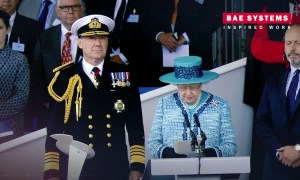 HMS Queen Elizabeth - The Nations flagship, built with pride