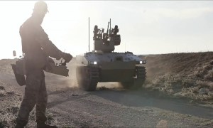 Soratnik Unmanned Combat Ground Vehicle (UCGV) was tested in Syria