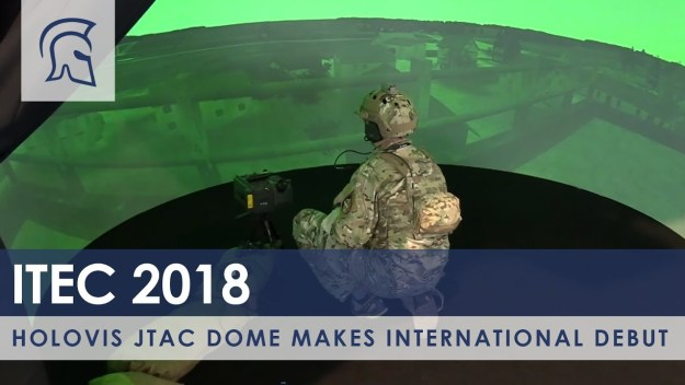 Holovis JTAC Dome Makes International Debut