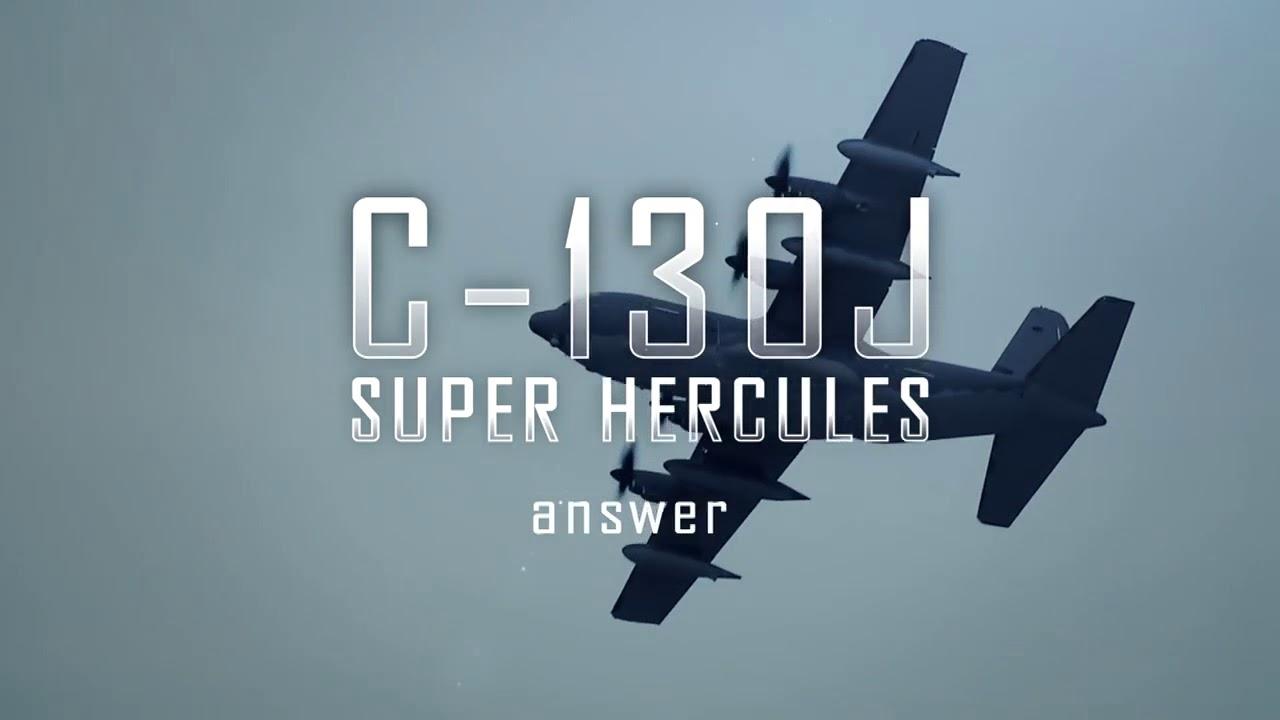 Lockheed Martin C-130J-SOF Super Hercules Special Operations