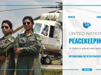 The 70th anniversary of UN peacekeeping!