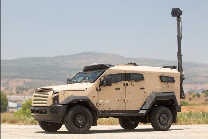 Sandcat Stormer Reconnaissance & Surveillance