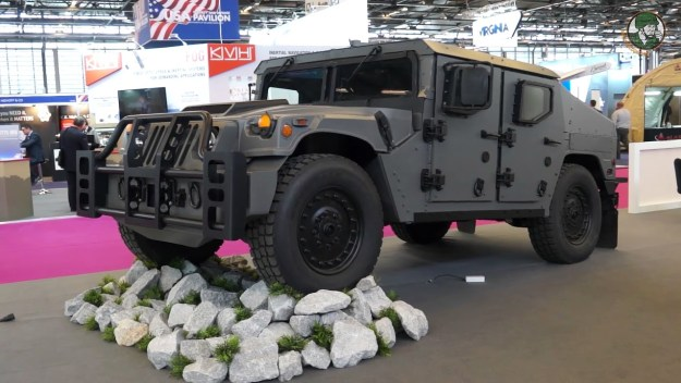 AM General Debuts New Light Tactical Vehicle NXT 360 at Eurosatory 2018