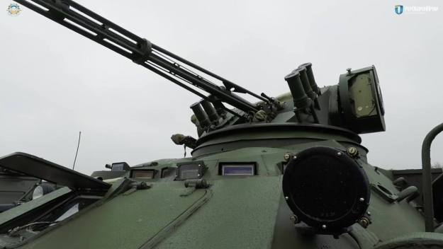 BTR-3DA with Shturm-M weapon system