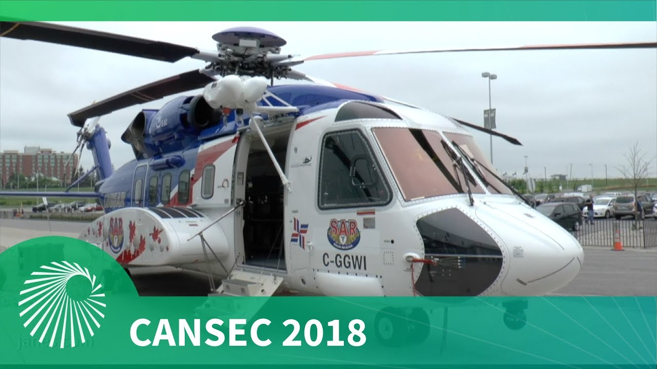 CANSEC 2018: Sikorsky S-92 SAR helicopter