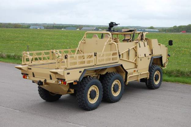 Coyote HMT 600 Tactical Support Vehicle