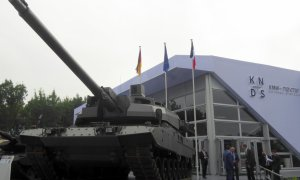 EMBT Enhanced Main Battle Tank European MBT unveiled by KNDS Nexter KMW