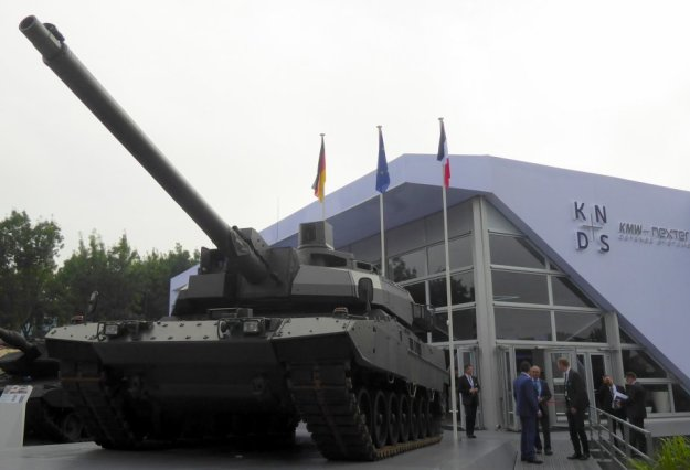 EMBT Enhanced Main Battle Tank European MBT unveiled by KNDS Nexter KMW