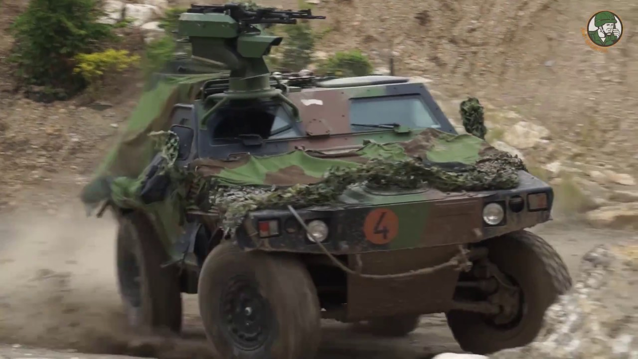 Eurosatory 2018 French army land forces live demonstration Paris France