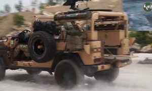 Eurosatory 2018 French Army Special Forces live combat demonstration Paris France