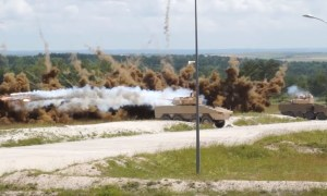 Eurosatory 2018: Lacroix from France demonstrates Galix Automatic Obscurant System at Suippes