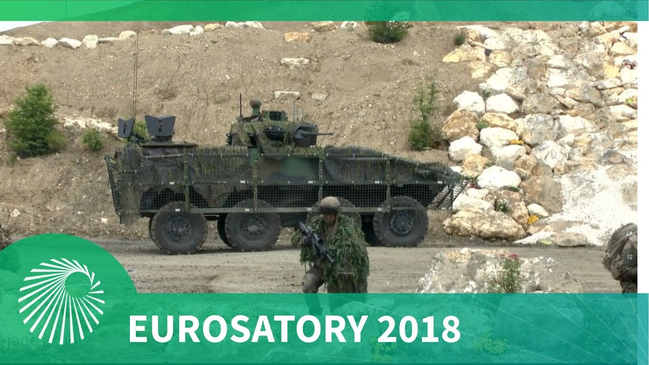 Eurosatory 2018: Live Daily Demonstrations