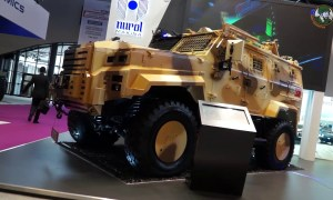 Eurosatory 2018 Nurol Makina from Turkey presents Ejder Yalcin and NMS 4x4 armored