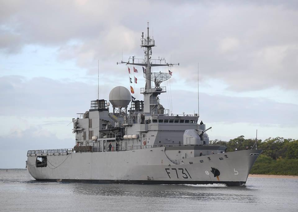 French Navy frigate FS Prairial (F731)