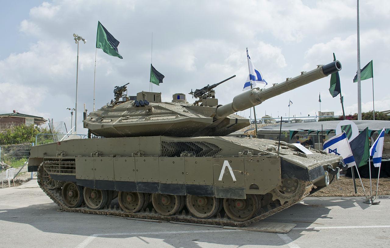 Israel Defence Forces Merkava 4 Main Battle Tank