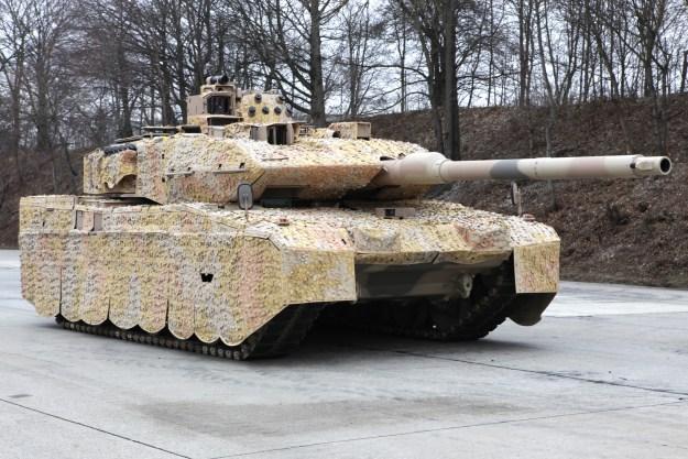 Leopard 2 A7+ Main Battle Tank