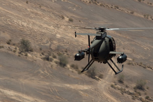 MD 530G Primary Weapons Testing - Yuma Proving Ground