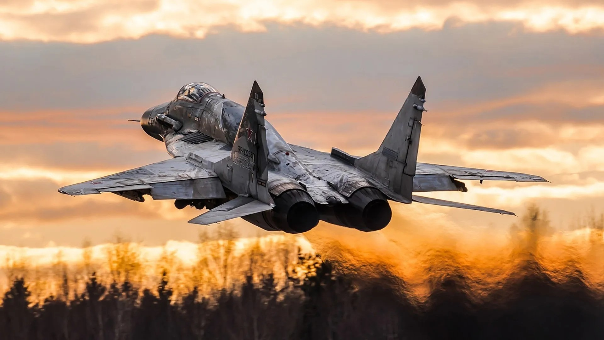 Mikoyan MiG-29 Jet Fighter Aircraft Wallpapers