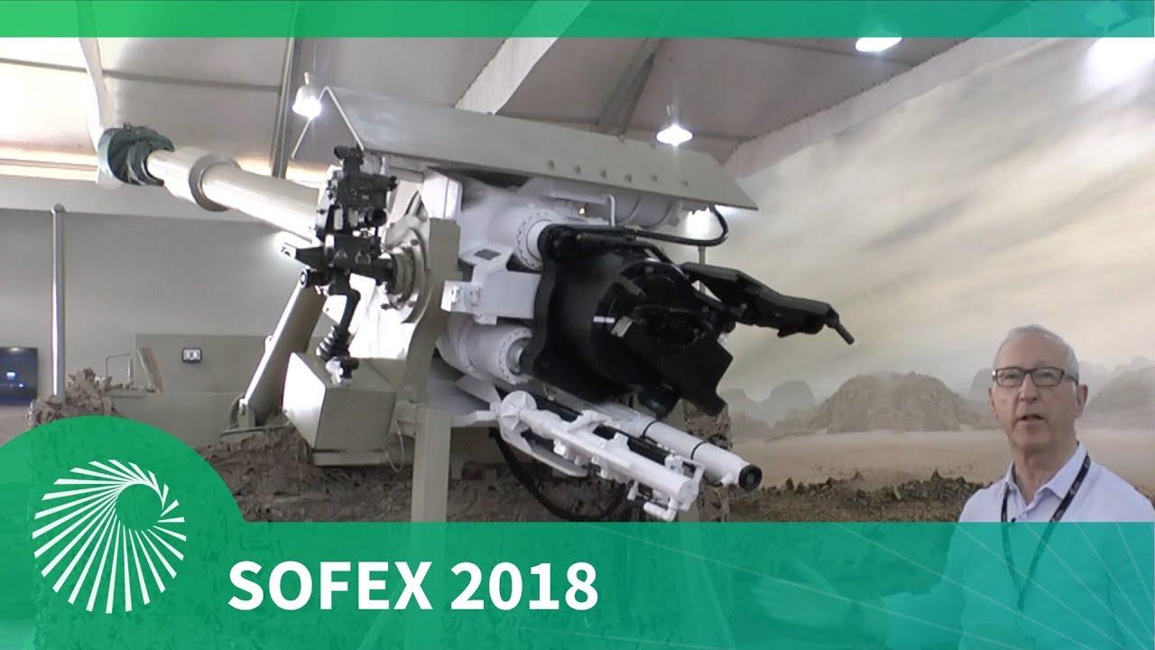 SOFEX 2018: Debut KADDB RUM II 155mm self propelled gun (SPG) system