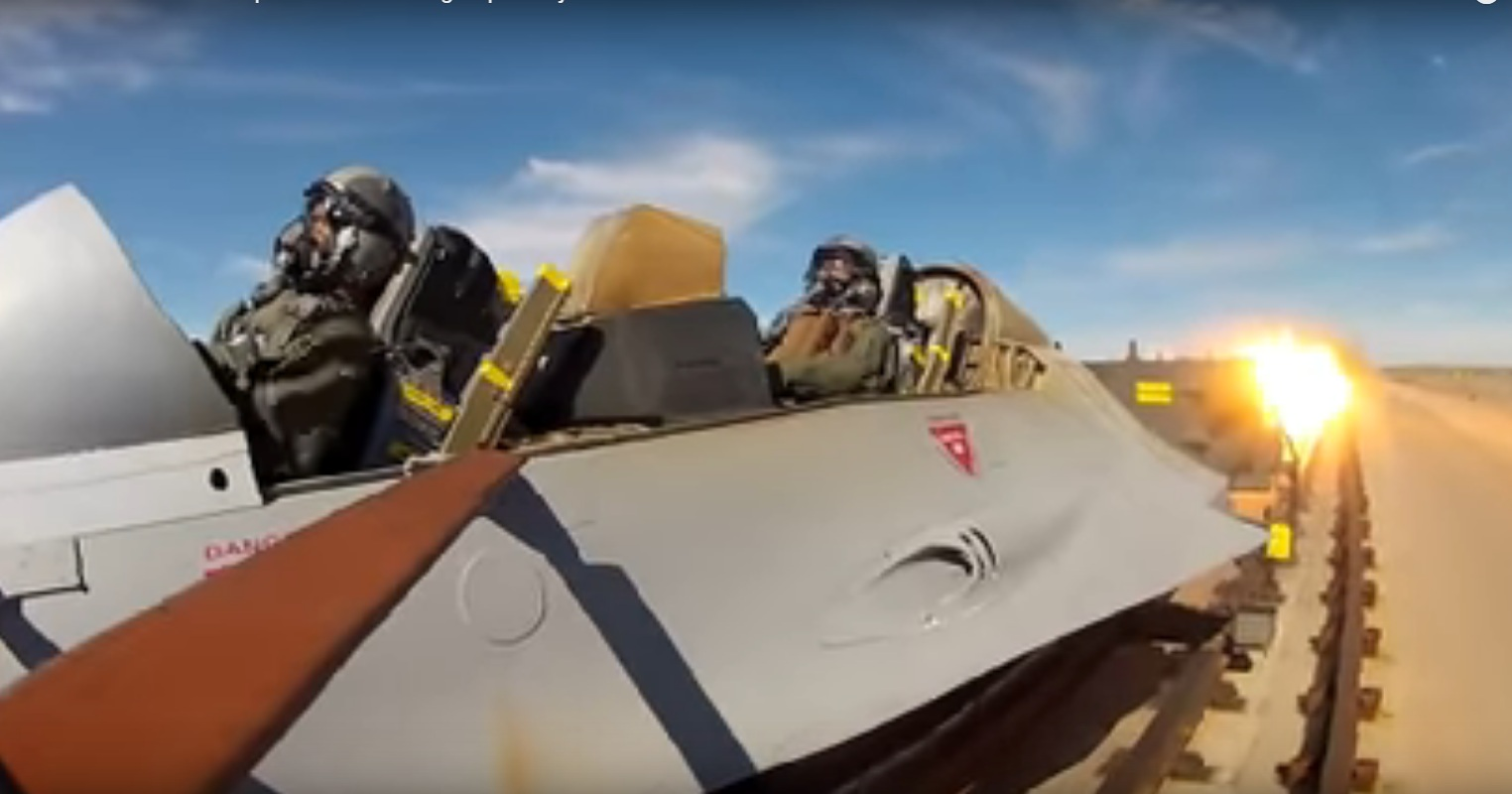 There Goes The Mannequin! Awesome High Speed Ejection Seat Tests