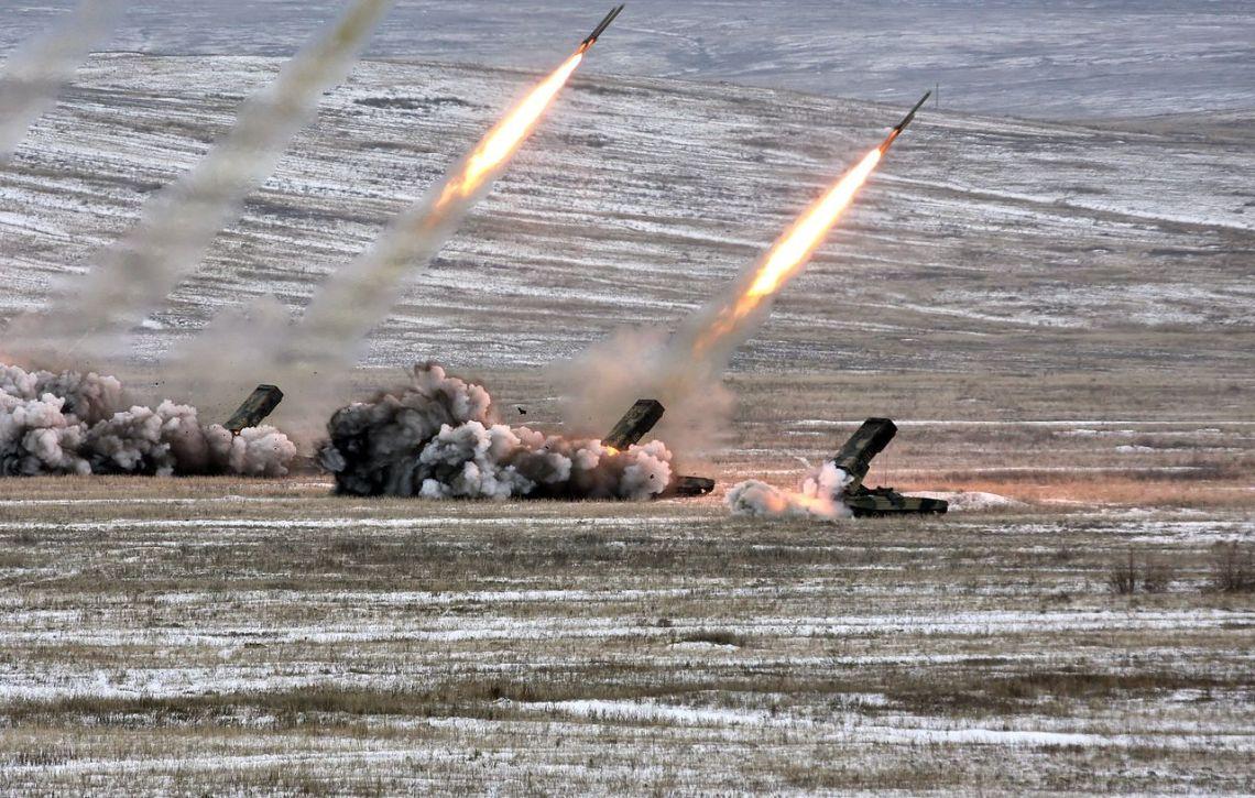 TOS-1A Solntsepyok Heavy flamethrower System