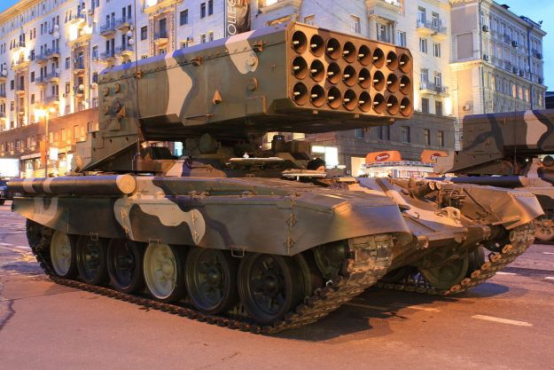 TOS-1A Heavy flamethrower system