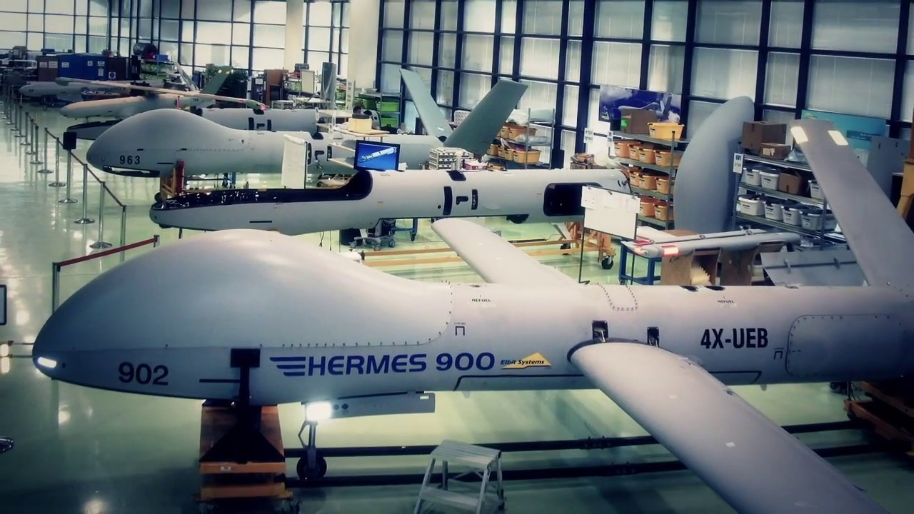 Elbit Hermes 900 Tactical Unmanned Air Vehicle (UAV)