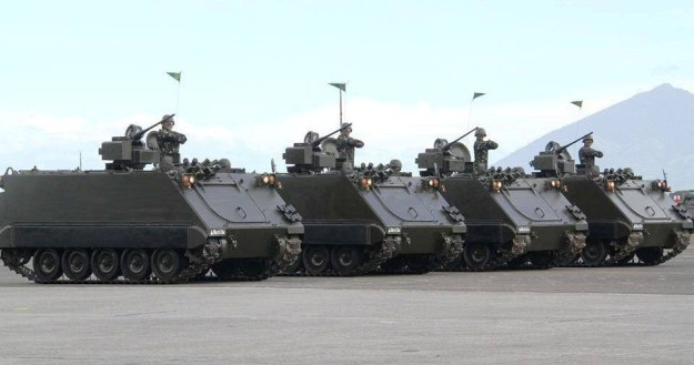 Elbit Systems to Upgrade M113 APCs for the Philippine Army