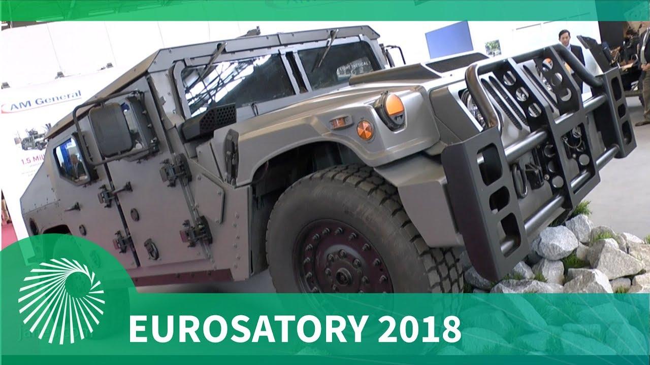 Eurosatory 2018 AM General unveils NXT 360 light tactical vehicle
