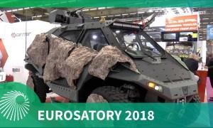 Eurosatory 2018: Carmor debut of new MANTIS vehicle