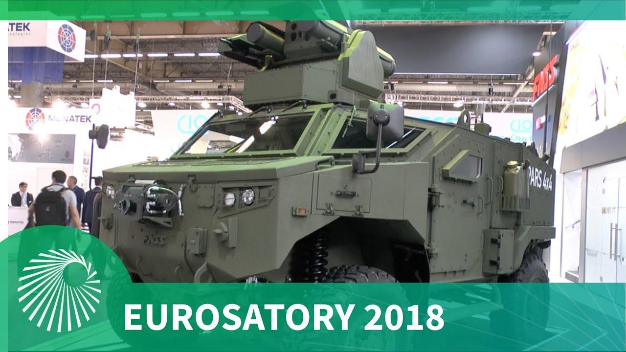 Eurosatory 2018: FNSS unveil PARS 4x4 Anti-Tank Vehicle