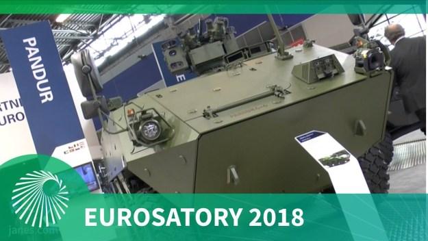 Eurosatory 2018: GDELS's PANDUR 6x6