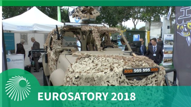 Eurosatory 2018: Hornet Special Operations Vehicle (SOV)