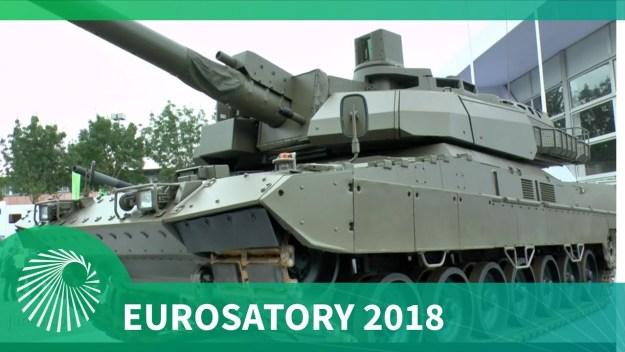 Eurosatory 2018: KNDS presents joint Franco-German tank demonstrator