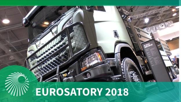 Eurosatory 2018: Scania's new generation truck