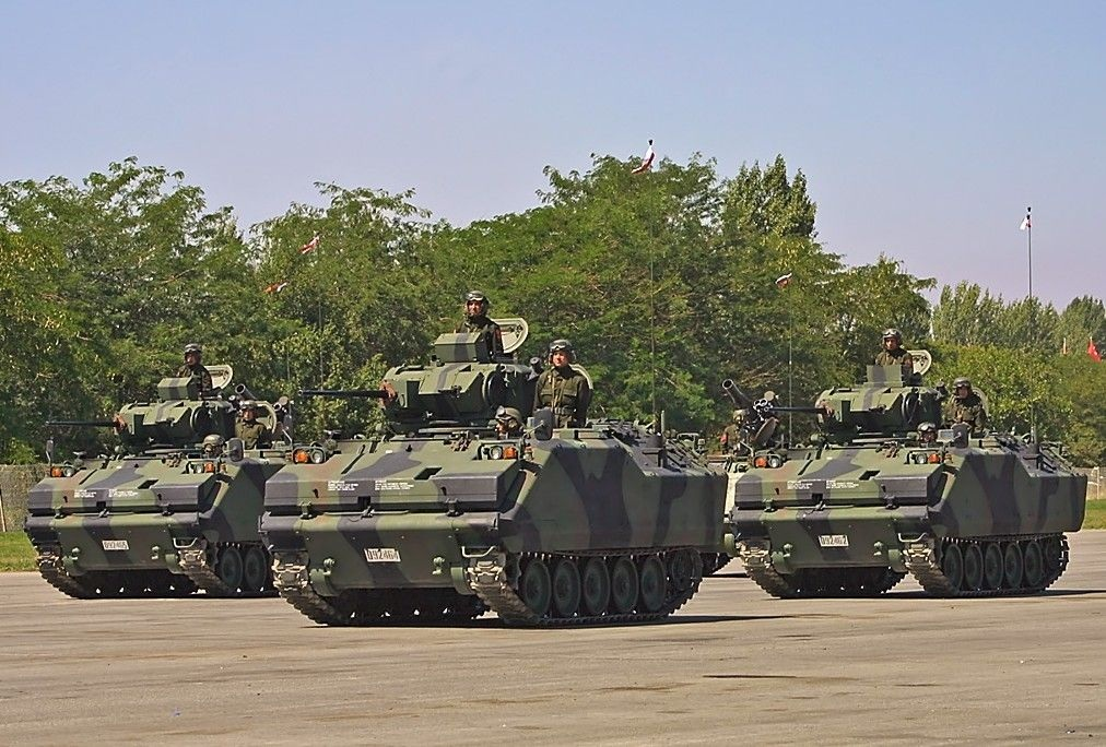 FNSS ACV-15 amphibious armored combat vehicle