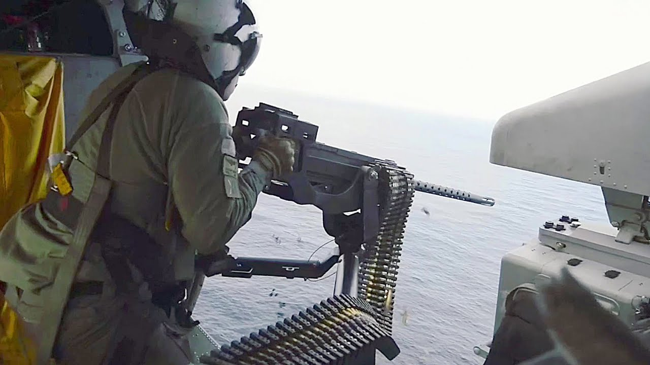 Helicopter Sea Combat Squadron 11 'Dragon Slayers' – Live Fire Exercise