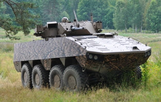 Patria AMV XP armoured personnel carrier