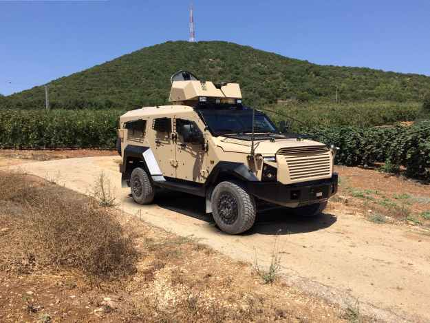 Plasan Sandcat M-LPV Mine-resistant Light Patrol Vehicle