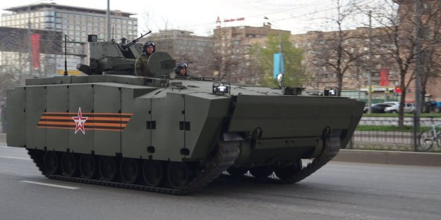 Russian Army to receive Kurganets-25 infantry fighting vehicle in 2019