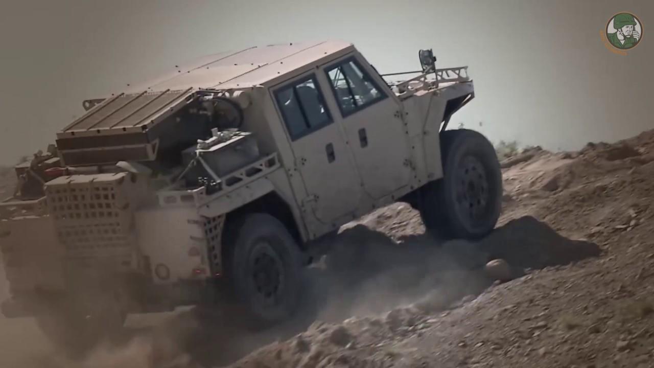 SOFEX 2018 Leonardo Lenco Bearcat G3 Polaris Dagor MRZR D2 Oshkosh S-ATV Humvee Hawkeye