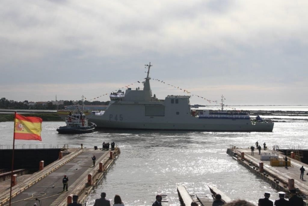 Spanish Navy Audaz P-45 patrol vessel