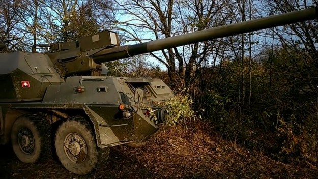 155 mm ShKH Zuzana 2 Self-propelled Howitzer