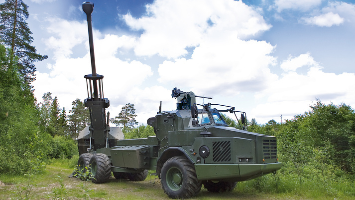 Archer 155 mm Wheeled Gun System